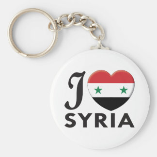 Syria Love Keychain
