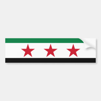 syria opposition bumper sticker