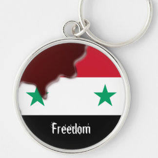 Syria Revolution Arab Spring We are all.. Keychain