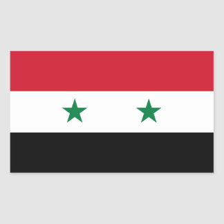 Syria/Syrian Flag Sticker
