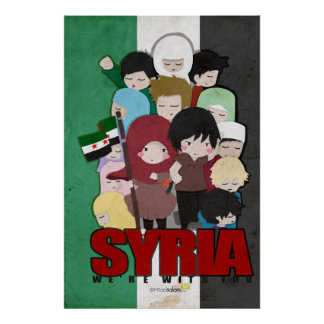 SYRIA - We're With You Poster