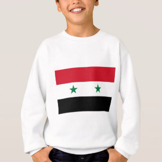 Syrian Arab Republic Flag - Flag of Syria Sweatshirt