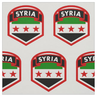 Syrian Flag Fabric