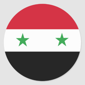 Syrian flag stickers