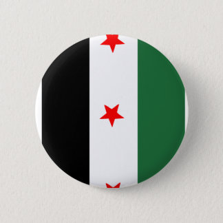 Syrian Revolutionary Flag 2 Inch Round Button