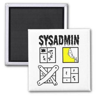 Sysadmin - System Administrator Magnet