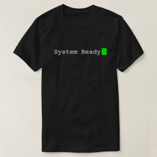 System Ready Retro Geek T-shirt