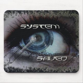 System Saved Mousepad