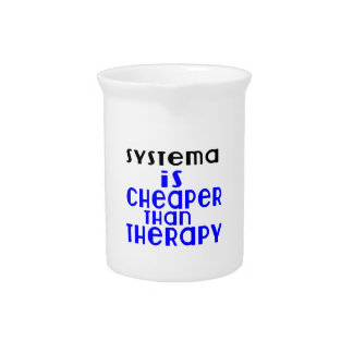 Systema Is Cheaper  Than Therapy Pitcher