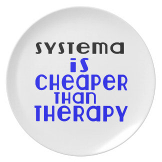 Systema Is Cheaper  Than Therapy Plate
