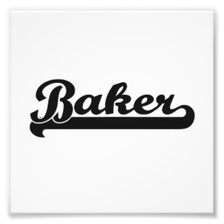 Système de travail classique de Baker Photos Sur Toile