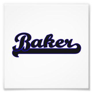 Système de travail classique de Baker Impression Photographique