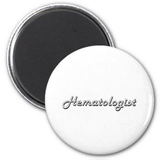 Système de travail classique d'hématologue magnet rond 8 cm