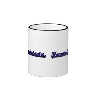 Système de travail classique d'hématologue mug ringer