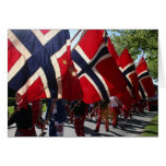 Syttende Mai Parade Greeting Cards
