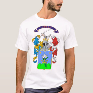 Szabo Family Hungarian Coat of Arms T-shirt