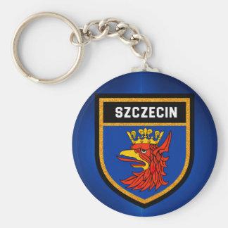 Szczecin Flag Keychain