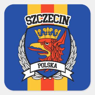 Szczecin Square Sticker