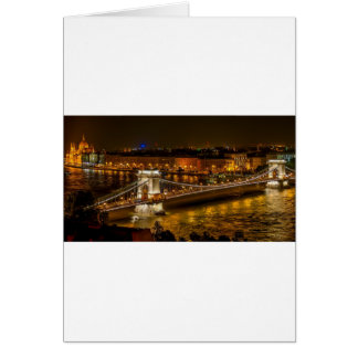 Szechenyi Chain Bridge Card