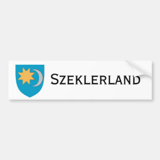 Szeklerland/Székelyföld Bumper Sticker