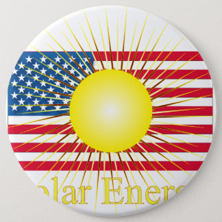 T14a Solar Energy 6 Inch Round Button