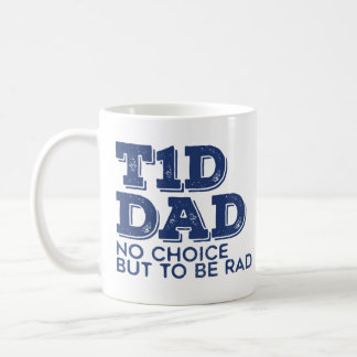 T1d Dad Rad (Navy) Coffee Mug