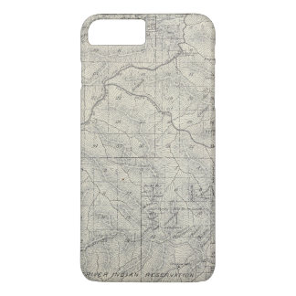T2021S R3031E Tulare County Section Map iPhone 7 Plus Case