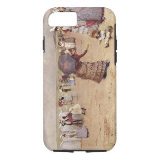 T29836 Elegant Figures on a Beach, 1886 iPhone 7 Case