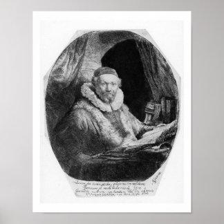 T29953 Portrait of Jan Uytenbogaert, Preacher of t Poster