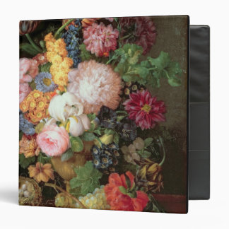 T30763 A Still Life of Flowers and Fruit (panel) Binders