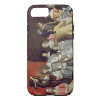 T30878 Elegant Company Dining Beneath a Red Canopy iPhone 7 Case