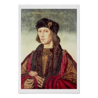 T31778 Portrait of Henry VII (1457-1509) Posters
