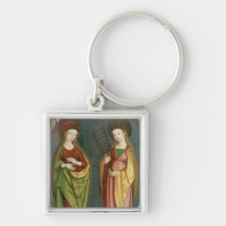 T32982 St. Margaret of Antioch and St. Faith, c.15 Key Chain