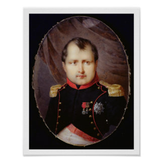 T34002 Portrait Miniature of Napoleon I (1769-1821 Poster