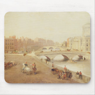 T34018 The River Liffey and the Law Courts, Dublin Mouse Pad