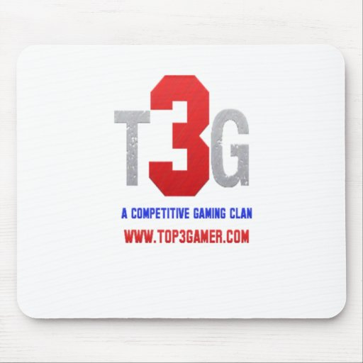 T3G Competitive Clan Logo Mousepads