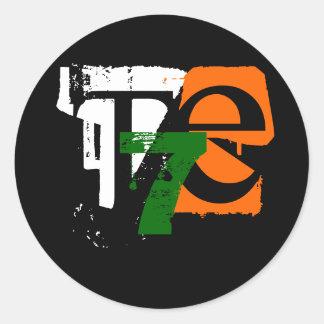 T7E (sticker) Classic Round Sticker
