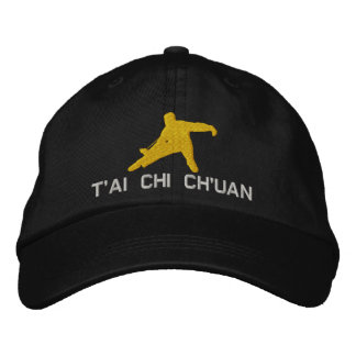 T ai Chi Ch uan Embroidered Baseball Cap