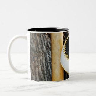 T-Ball Bat and Ball - Beginner Baseball Coffee Mugs