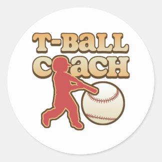 T-Ball Coach Sticker