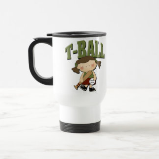T-Ball Girl Mugs