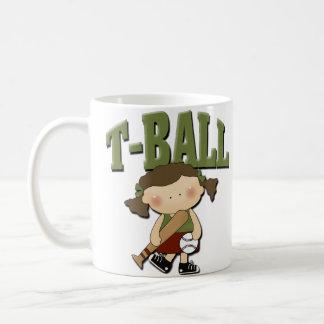T-Ball Girl Coffee Mug