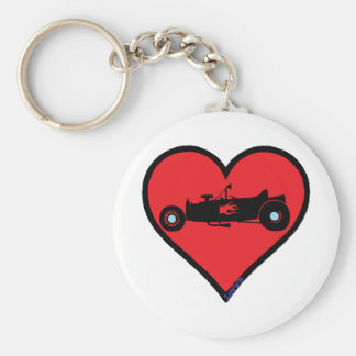 t bucket hot rod keychain