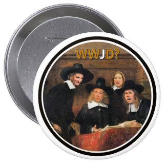 T.Cruz, M. Hickabee, R. Santorum & C. Fiorini 4 Inch Round Button