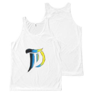 T.D. Arts Logo Uni-sex Sleeveless All-Over-Print Tank Top