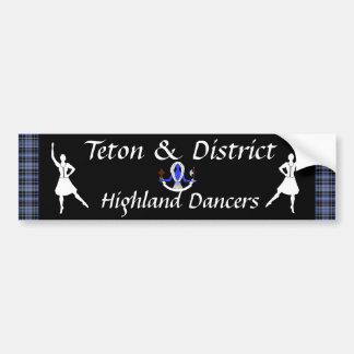 T&D Highland Dancers Bumper Sticker