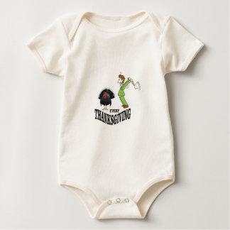 t-day tradition turkey baby bodysuit