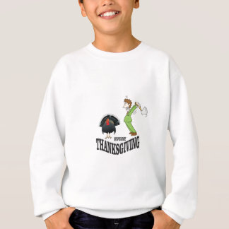 t-day tradition turkey sweatshirt