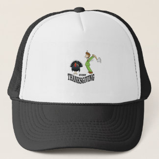 t-day tradition turkey trucker hat