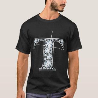 """T"" Faux-""Diamond Bling"" T-Shirt"